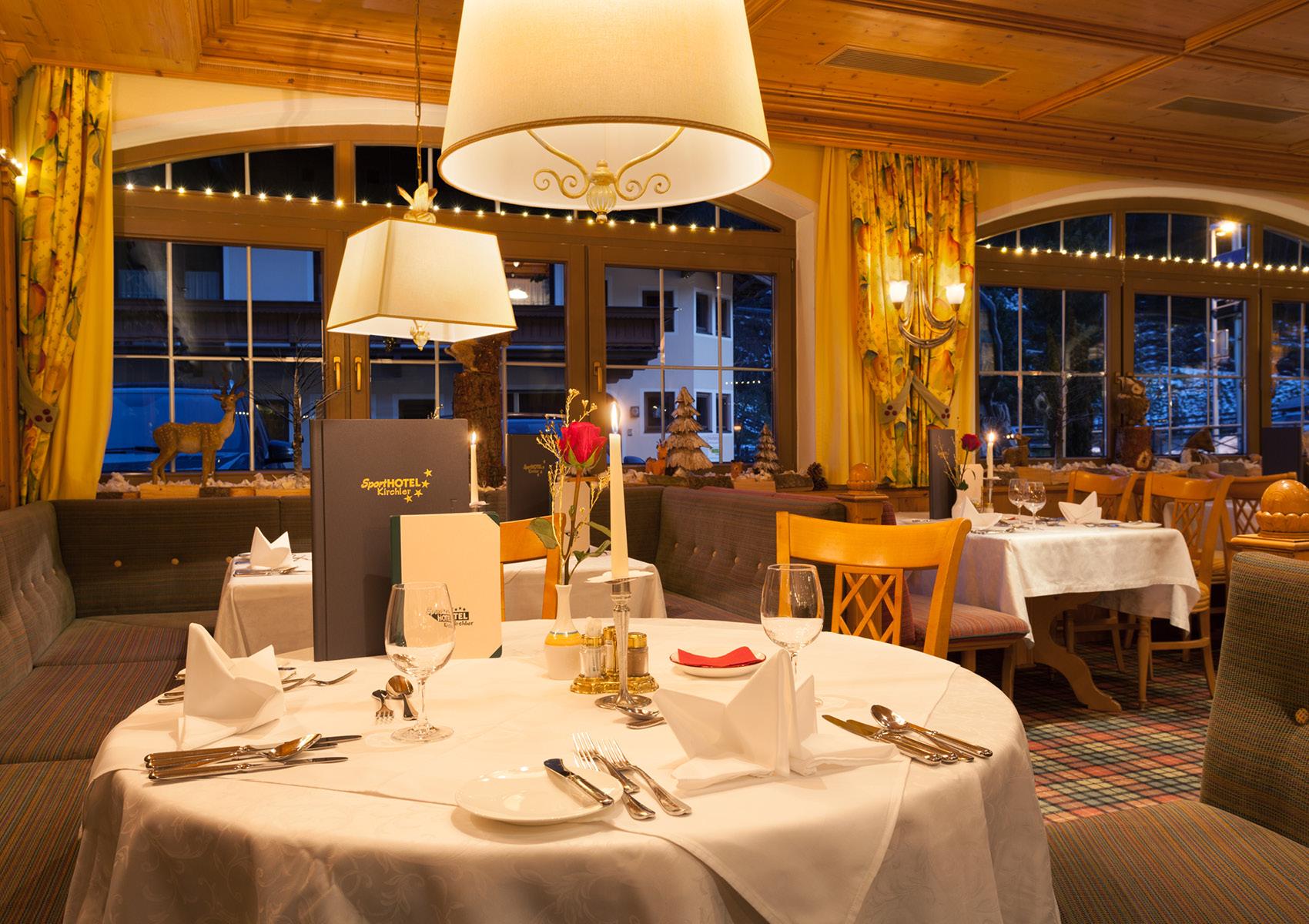 Restaurant Sporthotel Kirchler